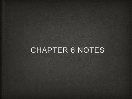 CHAPTER 6 NOTES. Statement savings account: savings account where the depositor receives a monthly statement showing all transactions. Money market deposit.