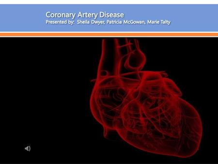  Coronary artery disease (also called CAD) is the most common type of heart disease. It is also the leading cause of death for both men and women in.
