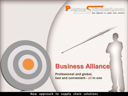 Business Alliance Professional and global, fast and convenient - all in one.