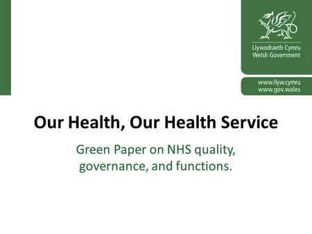integrated governance health policy essay Policy integration in government in pursuit of the scientific and governance dimensions of policy integration are on malaria and tuberculosis in health.