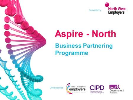 Developed by Aspire - North Business Partnering Programme Delivered by.