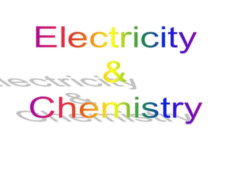 definitions of terms uses of electrolysis learn to predict products of electrolysis –molten compounds –aqueous solutions construct ionic equations for.