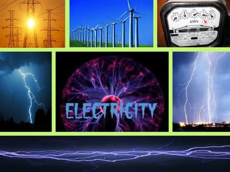 ELECTRICITY. Learning Objectives Characterize voltage as the force that causes electrons to move. Compare the characteristics of AC, DC and Static Electricity.
