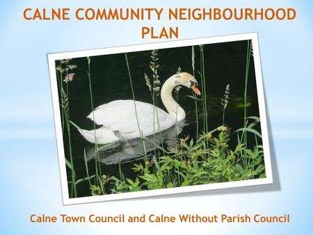 Calne Town Council and Calne Without Parish Council.