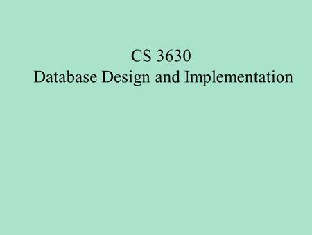 CS 3630 Database Design and Implementation. Joins -- For each booking, display the booking -- details with the room type and price Select B.*, rtype,