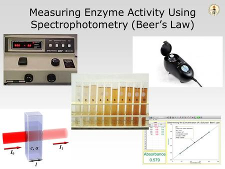 Measuring Enzyme Activity Using Spectrophotometry (Beer's Law)