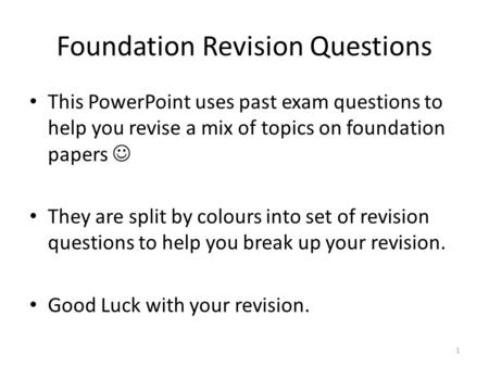 what are the benefits of revising a paper How past exam papers can be key to exam success sally hall at leeds,  university of 11th march 2015 rate this article share this article: addthis .