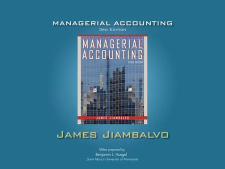 CHAPTER 13 Analyzing Financial Statements: A Managerial Perspective Analyzing Financial Statements: A Managerial Perspective.