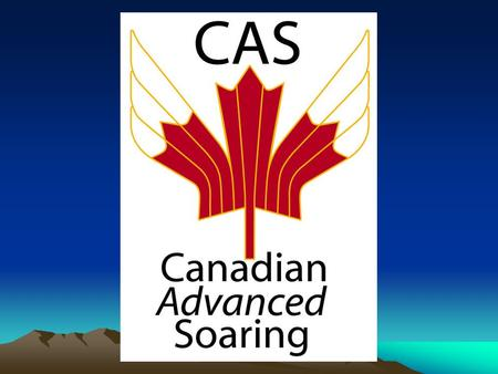 Canadian Advanced Soaring Finding and centering thermals.