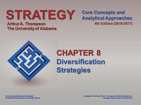 Chapter 8 corporate strategy diversification and the multibusiness company