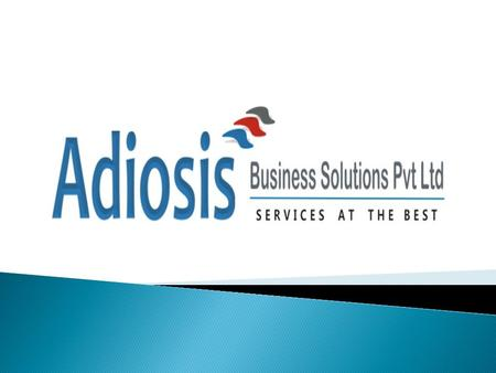  ABS Services is a leading third party BPO company having a center at PUNE, that delivers Business Process Outsourcing services to currently 6 companies.