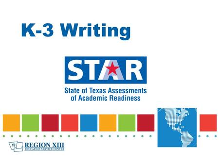 K-3 Writing. STAAR Compositions Grade 4Grade 7English IEnglish IIEnglish III Personal Narrative Personal Narrative with Extension Expository Literary.