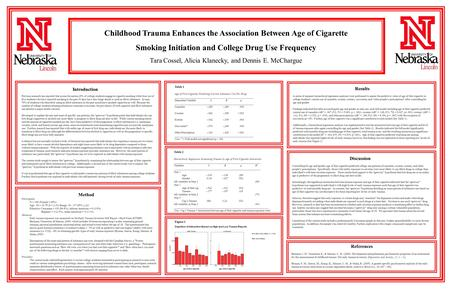 Method Introduction Results Discussion Mean Negative Cigarette Systoli Previous research has reported that across the nation 29% of college students engage.