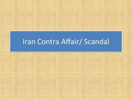 Iran Contra Affair/ Scandal. Boland Amendment First Democrats passed the Boland Amendment, which restricted CIA and Department of Defense operations.