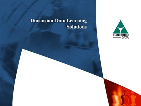 Dimension Data Learning Solutions. Cisco Systems Career Certifications.