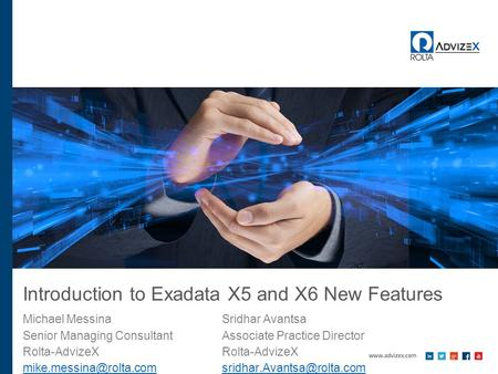 Introduction to Exadata X5 and X6 New Features