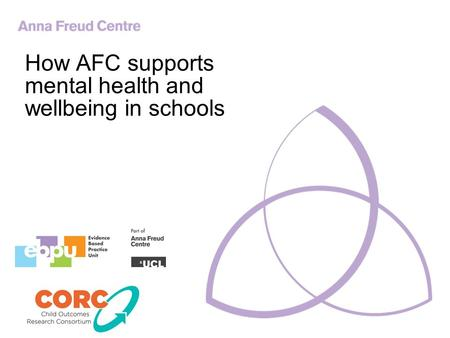 How AFC supports mental health and wellbeing in schools.