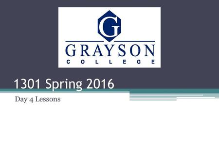1301 Spring 2016 Day 4 Lessons. What to expect today: Questions over the reading Check Attendance Summary Thesis Statements First Draft of the summary.