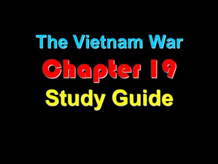 a study on the antiwar movement against vietnam in the united states The us defense department study of the vietnam i'm a vietnam veteran against the war not because of the powerful antiwar movement in the united states.