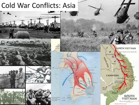 Cold War Conflicts: Asia. Communist Revolution in China (1946-1949) A civil war divided China into two nations.