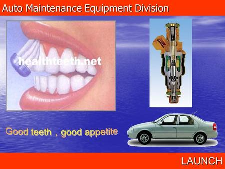 Auto Maintenance Equipment Division LAUNCH. CNC Series- Injector Cleaner& Tester 1.Affect of engine fuel system 2.Introduction of CNC series 3.Maintenance4.Precautions5.Troubleshooting.