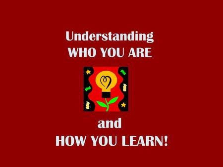 What Type Of Learner Am I?