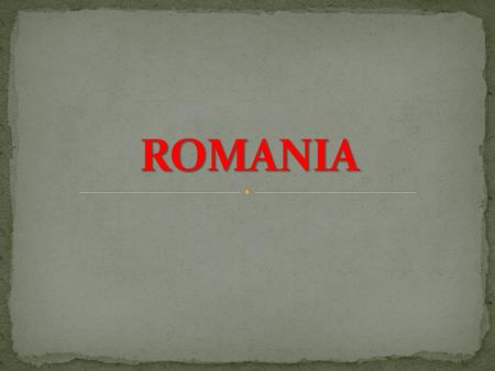 Romania is a country located at the intersection of Central and Southeastern Europe, bordering on the Black Sea. Romania shares a border with Hungary.