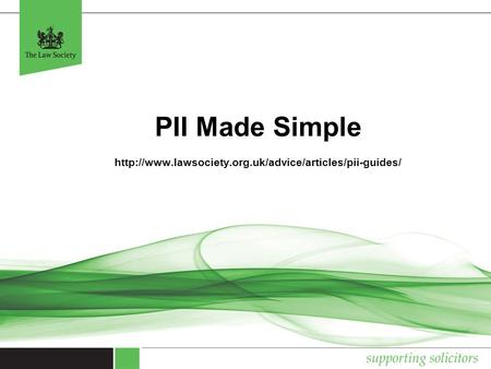 PII Made Simple