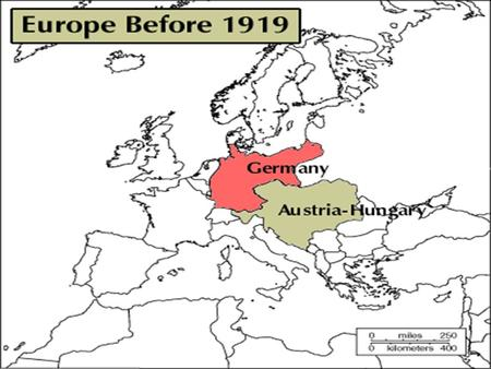 Europe 1939 How did post-World War I Europe set the stage for World War II? Causes of World War II Political instability and economic devastation.