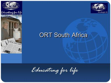 Company LOGO ORT South Africa Educating for life.