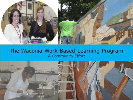 The Waconia Work-Based Learning Program A Community Effort.