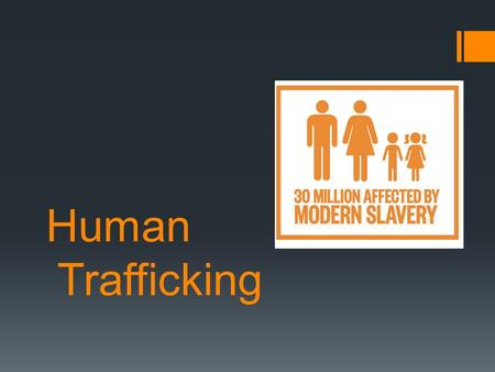 Human Trafficking. Human trafficking  Human trafficking is a gross violation of Human Rights.  Human Trafficking involves the movement of people within.