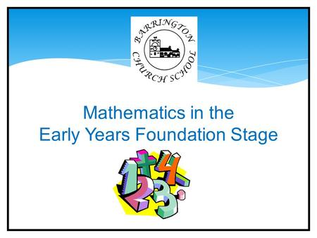 mathematical learning in the early years The national academies national research council division of behavioral  and social sciences and education center for education committee on early.