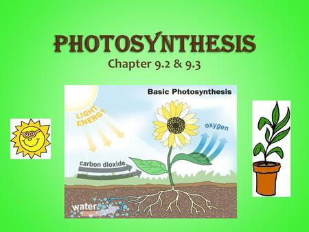 Chapter 9.2 & 9.3. Energy is essential for life and for the cell's organelles to do their work. Autotroph - An organism that uses light energy or energy.