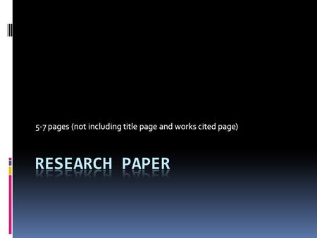 preliminary term paper One of the most important aspects of science is ensuring that you get all the parts of the written research paper in the right order.