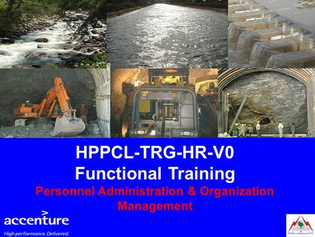 HPPCL-TRG-HR-V0 Functional Training Personnel Administration & Organization Management.