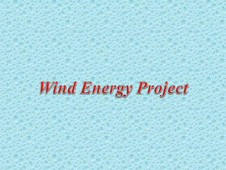 1. Abstract Introduction Advantages and Disadvantages. Wind Energy Applications. How does it work? 2.