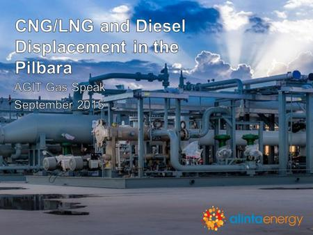 CNG/LNG and Diesel Displacement in the Pilbara