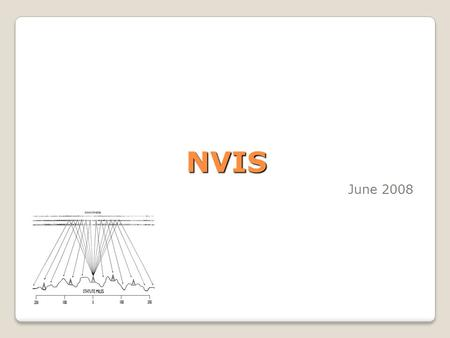 NVIS June 2008. What is NVIS? Near Vertical Incident Skywave ◦A radio propagation mode ◦An alternate method to obtain reliable communication at distances.