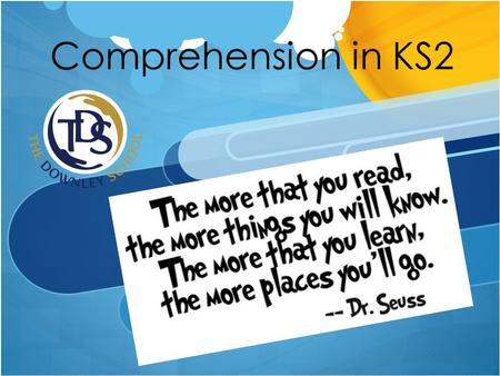 Comprehension in KS2. By the end of the session  Understand what inference and deduction are.  Know why inference and deduction are important skills.