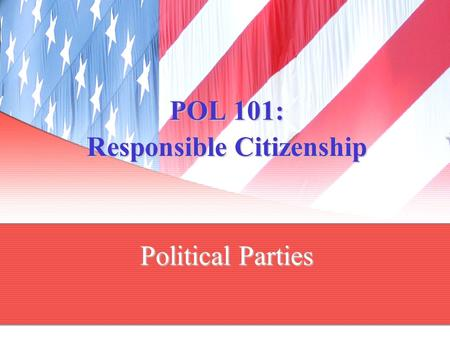 responsible political parties Legal framework for the funding of political parties using the  the electoral  commission is responsible for  responsible for the registration according to.