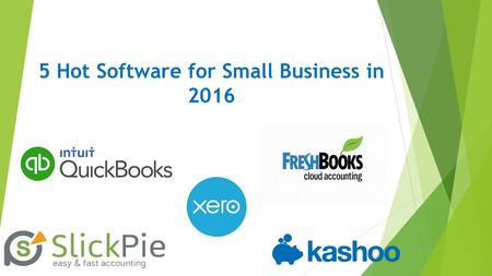 5 Hot Software for Small Business in 2016. Cloud computing continuously transforming the accounting industry by the way, accounting firms do accounting.