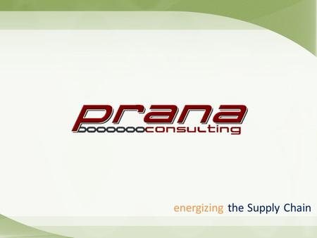Energizing the Supply Chain. About Us Providing exceptional consulting service since 2003 Strategic partner of Kinaxis * Head Quarters in US * Off Shore.