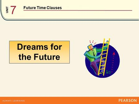 UNIT Future Time Clauses 7 Dreams for the Future.