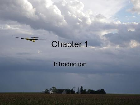 "Beard & McLain, ""Small Unmanned Aircraft,"" Princeton University Press, 2012, Chapter 1: Slide 1 Chapter 1 Introduction."