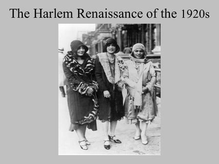 art in the harlem renaissance and the social changes during the artistic movement Thesis: the sass's harlem renaissance was an era that provided an opportunity  of literary and artistic advancement for african americans.