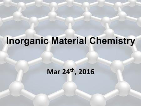 Mar 24 th, 2016 Inorganic Material Chemistry. Gas phase physical deposition 1.Sputtering deposition 2.Evaporation 3.Plasma deposition.