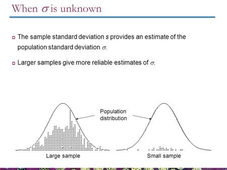 inferences for one population standard deviation essay The reader needs precise information on such matters to draw valid inferences from population standard deviation standard deviation since one.