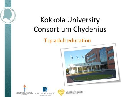 Kokkola University Consortium Chydenius Top adult education.