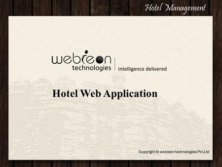 Hotel Jashree Hotel Web Application Hotel Management.